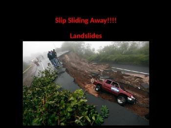 Weathering and Erosion: Landslides (some animations)