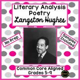 Langston Hughes Literary Analysis