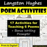 Langston Hughes Poetry Pack - Buy the Set and Save 20%!