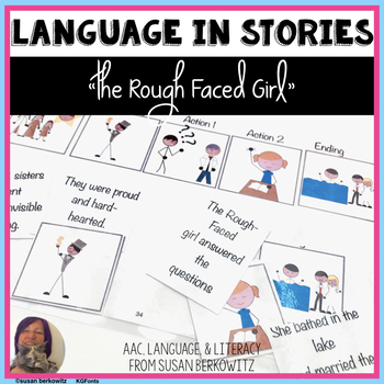 The Rough Faced Girl language skills resources speech ther