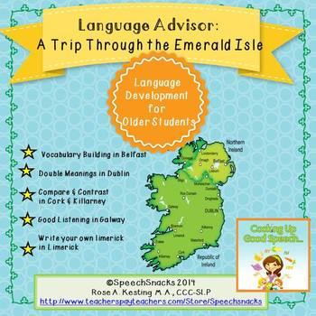 Language Advisor: A Trip Through the Emerald Isle {middle/