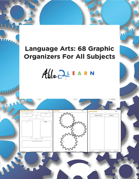 Language Arts: 83 Graphic Organizers For All Subjects