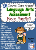 Language Arts Assessment Mega Bundle for 4th-5th Grade (CC