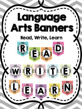 Language Arts Banners