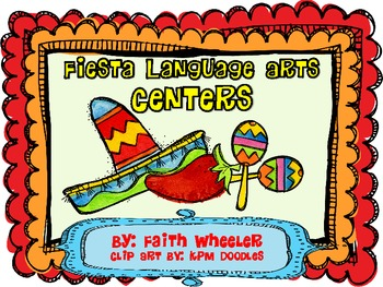 Cinco de Mayo Language Arts Fiesta Centers