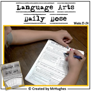 Language Arts Daily Dose {Weeks 21-24}