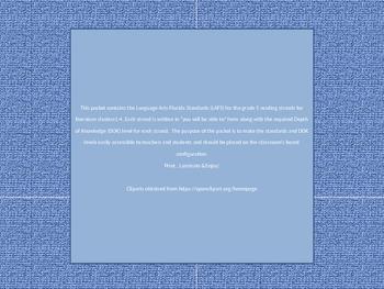 Language Arts Florida Standards ( LAFS) - Literature- Grade 5