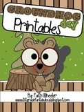 Groundhog Day Language Arts Printables