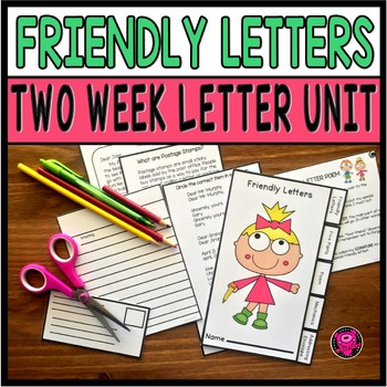 WRITING FRIENDLY LETTERS and SEQUENCING ACTIVITY