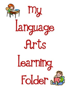 Language Arts Learning Folder