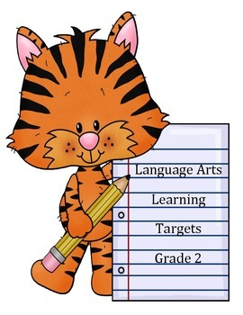 Language Arts Learning Targets for 2nd Grade Common Core S