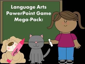 Language Arts PowerPoint Game Mega Pack
