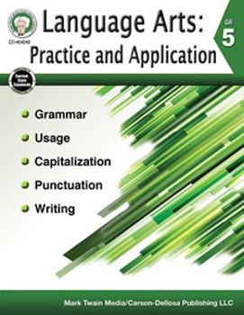 Language Arts: Practice and Application Grade 5 SALE 20% O