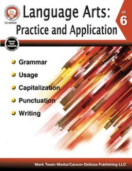 Language Arts: Practice and Application Grade 6 SALE 20% O