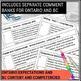 Language Arts Report Card Comments
