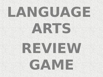 Language Arts Review Game