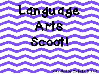 Language Arts Scoot Game