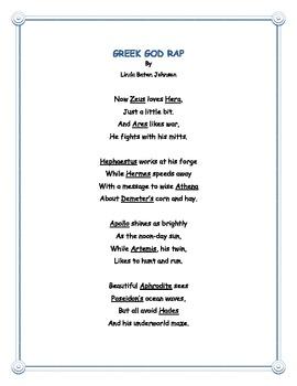 Greek God Rap