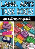 Language Arts Task Boxes