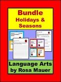 Language Arts Task Cards & Worksheets Growing Bundle