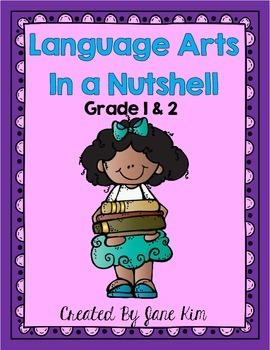 Language Arts in a Nutshell- Grade 1 & 2 Daily Language Practice