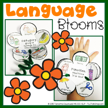 Language Blooms: Flower Craft and Bracelets for Language