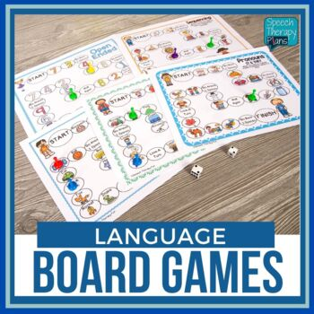 Language Board Games