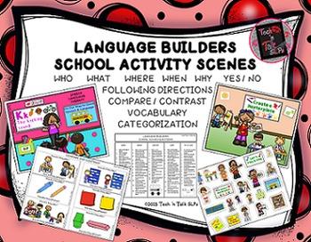 Language Builders School Activity Scenes