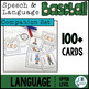 Language COMPANION SET for Speech and Language Baseball (U