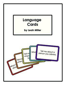 Language Cards