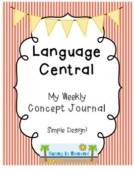 Language Central - Weekly Concept Journal