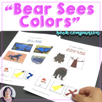 Bear Sees Colors Language Concepts for Speech Therapy and