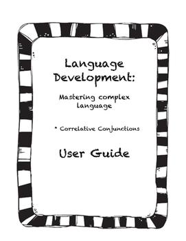 Language Development: Correlative Conjunctions