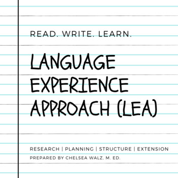 Language Experience Approach Packet {Research & Background