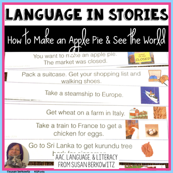 Language Activities for How to Make an Apple Pie and see t