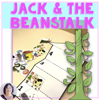 Language Fun with Jack and the Beanstalk  Speech Therapy S