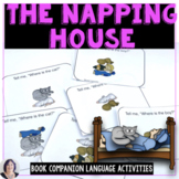 "Language Activities for ""The Napping House"" Speech Therapy"