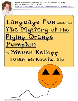 Language Fun with the book The Mystery of the Flying Orang