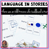 Language Fun with the book There Was an Odd Princess Who S