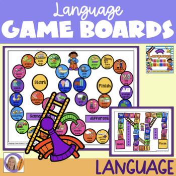 Language Game Boards
