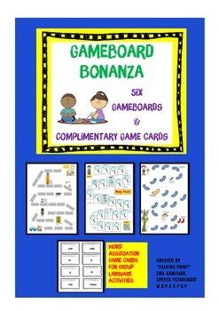 Language Gameboards