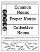 Language Conventions - Nouns - Interactive Notebook and Wr