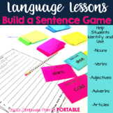 Language Lessons - Build a Sentence Game