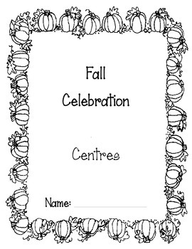 Language, Math, Science- Fall Celebration Centres