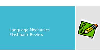 Language Mechanics Review PPT