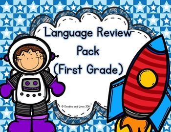 Language Review Pack (First Grade)