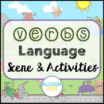Verbs Scene: Expressive & Receptive Language