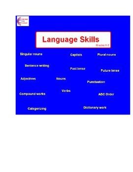 Language Skills Practice Common Core Language ELA workshee