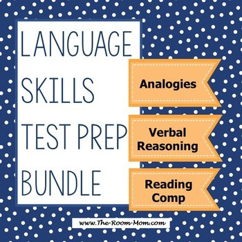 Language Skills Test Prep Bundle