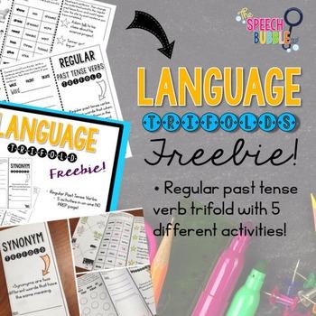 Language Trifold FREEBIE